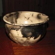 jake pottery raku bowl