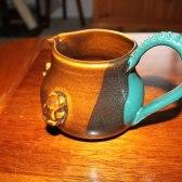 jake mug pottery three colours