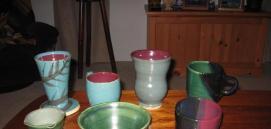 jake pottery mugs