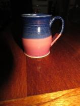 Jake - pink and blue mug