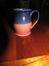 Jake - pink and blue mug
