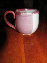 jake - pink, purple and blue mug